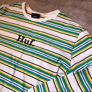 Guess Stripped Long Sleeve T-Shirt